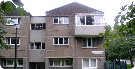 Photo of local housing